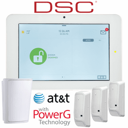 QS9202-4208-840-KIT - Qolsys IQ Panel 2+ Wireless Security System for DSC AT&T LTE (3-1 Kit)