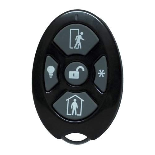 RE600-5 - Alula Wireless 5-Button Remote Alarm Keyfob (for Connect+ Panel)