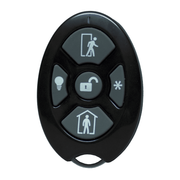 RE600-5 - Alula Wireless 5-Button Remote Keyfob (for Connect+ Panel)