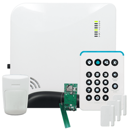 Alula Connect+ Cellular Verizon LTE Wireless Security System (Powered by Alula)