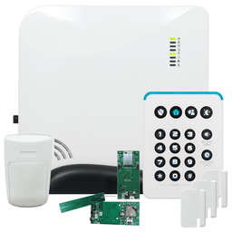 Alula Connect+ Dual-Path Ethernet/Cellular Verizon LTE Wireless Security System (Powered by Alula)