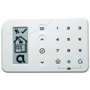 RE656 - Alula Wireless HeliPAD Keypad (for Connect+ Panel)