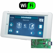 RE657W-R - Alula Wireless HeliTouch Keypad w/WiFi Expansion Card (for Connect+ Panel)