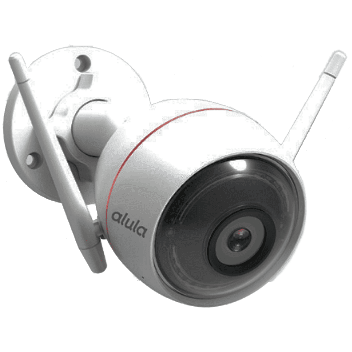 Re701 Alula Outdoor Bullet Security Camera For Connect