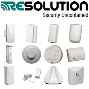 Resolution Products Cryptix-Encrypted Wireless Security Sensors