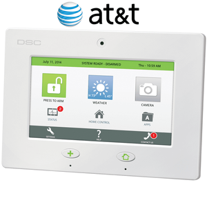 SCW467AT - DSC Touch Cellular AT&T 3G Wireless Control Panel (Powered by Connect24)