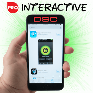 Telguard Cellular Interactive Alarm Monitoring Services (w/HomeControl for DSC Security)