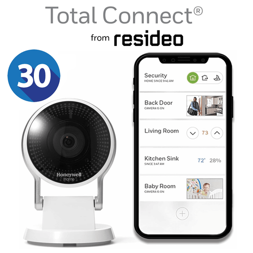 Total Connect Residential Home Video Surveillance Services (w/30-Days Storage)