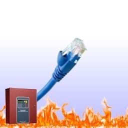 Universal Commercial Fire Internet IP Alarm Monitoring Service