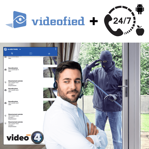 Videofied Burglary Intrusion Interactive Home Alarm Monitoring Services