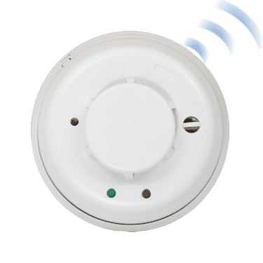 Wireless Combo Heat/Smoke Detectors