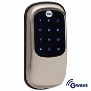 YRD110ZW619 - Yale Z-Wave Key Free Touchscreen Deadbolt (Satin Nickel)