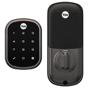 YRD156-ZW2-0BP - Yale Pro™ SL Touchscreen Key-Free Deadbolt Lock (w/Z-Wave Plus in Oil Rubbed Bronze Finish)