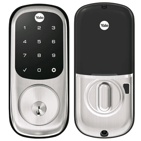 YRD226ZW2-619 - Yale Assure Lock Touchscreen Deadbolt (w/Z-Wave Plus in Satin Nickel Finish)