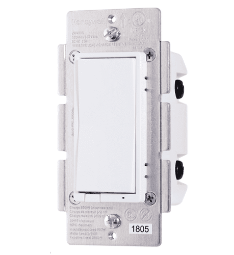 Z5DIMMER - Resideo Honeywell Home Universal In-Wall Z-Wave Plus Dimmer (600W Incandescent, 150W Dimmable)