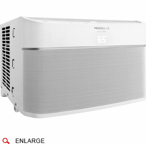 Frigidaire FGRC1244T1 12,000 BTU Smart Window Air Conditioner, Wi-Fi Enabled, 115 Volt, Energy Star Rated, EER Rating of 12.0, New Body Style in White
