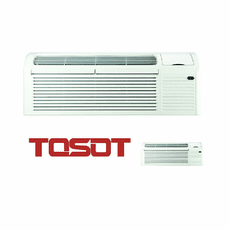 TOSOT TAA09AE-D3NRNB5GCP PTAC, 9,400 BTU, Heat Pump with Electric Backup, 230 Volt, EER Rating 12.1, Seacoast Protection, Dual Motor Technology, Aero-Quiet Blower, Power Cords, Wall Sleeves and Exterior Grilles Sold Separately