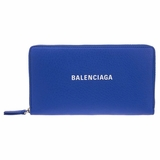 Balenciaga Continental Everyday Wallet - Blue