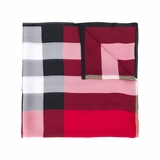 Burberry Check Scarf - Red