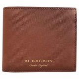 Burberry Lined Leather Bi-Fold Wallet - Brown