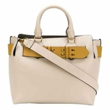 Burberry The Small Tri-Tone Leather Belt Bag - Beige