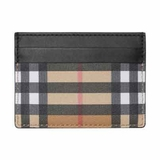 Burberry Sandon Vintage Check Card Case Wallet - Multicolor