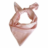 Burberry Square Silk Shawl - Pink