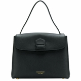 Burberry The Derby Medium Grainy Tote Bag - Black