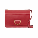 Burberry The Medium D Ring Bag Shoulder - Red