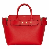 Burberry The Small Leather Triple Stud Belt Bag - Red