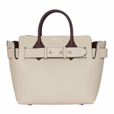 Burberry The Small Tri Tone Leather Triple Stud Belt Bag - Beige