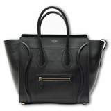 Celine Luggage Micro Bag Black