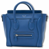 Celine Luggage Nano Bag Blue
