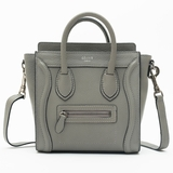 Celine Luggage Nano Bag - Gray