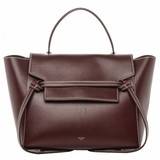 Celine Smooth Calfskin Mini Belt Bag - Burgundy