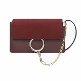 Chloe Faye Small Shoulder Bag - Red