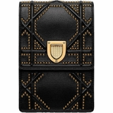 Dior Diorama Vertical Clutch - Black