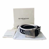 Givenchy Men's Authentic Belt - Black & White