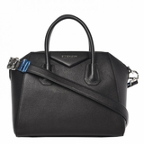Givenchy Sugar Goatskin Small Antigona - Black