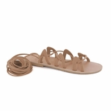 MAC&LOU Greek Leather Sandals 'Andromeda' - Natural