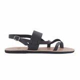 MAC&LOU Greek Leather Sandals 'Thalia' - Black