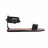 MAC&LOU Greek Leather Sandals 'Urania' - Black