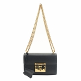 Gucci Chain Shoulder Bag - Black