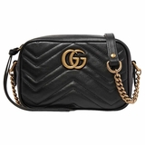 Gucci GG Marmont Camera Mini Shoulder Bag - Black