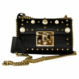 Gucci Small Padlock Bag - Black