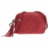 Gucci Soho Disco Crossbody Small - Red