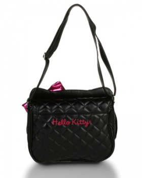 Hello Kitty Quilted Face Crossbody