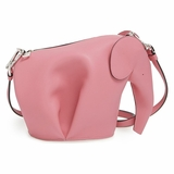 Loewe Elephant Motif Cross Body Bag - Pink