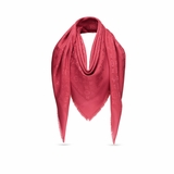 Louis Vuitton M72237 Monogram Shawl - Pomme d' Amour Red