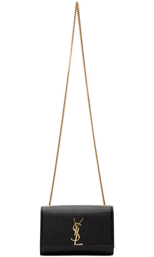 8df3ee1a3f Saint Laurent Small Kate Chain Bag - Black